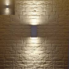 contemporary outside wall lights neive exterior wall light