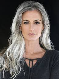grey hairstyles for younger women best 25 long gray hair ideas on pinterest can grey hair go