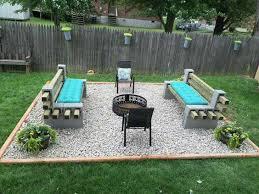 Firepit In Backyard Back Yard Pit Gewoon Schoon