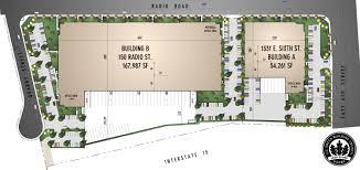building site plan corona crossroads business park site plan building features