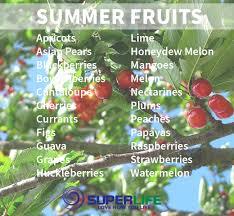 seasonal eating for summer