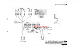 forklift controls diagram complete wiring diagram