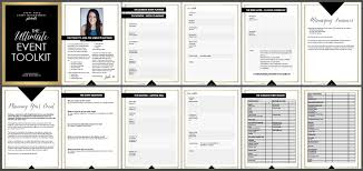 Event Planning Sheet Template Event Toolkit Event Event Management