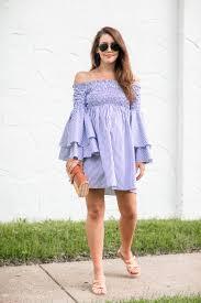 my favorite blue u0026 white dress dallas wardrobe fashion