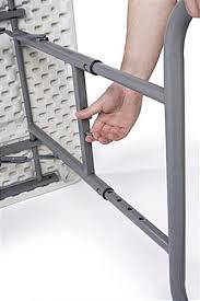 6 ft adjustable height table impressive 6 ft folding table adjustable height folding table with