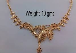 gold necklace patterns images 15 traditional gold necklace designs in 10 grams styles at life jpg