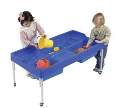 tall sand and water table sand and water activity table 610mm water play water trays