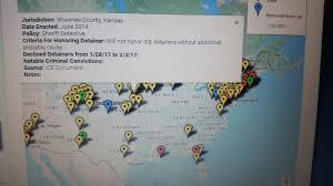 Shawnee Map Shawnee County Not A U0027sanctuary County U0027 Jail Director Brian Cole