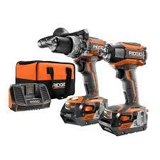 ridgid 18 volt gen5x lithium ion cordless brushless hammer drill