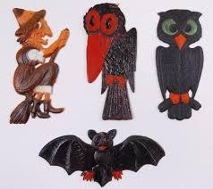 Vintage Halloween Decorations The Sane Halloween Observer Vintage Collectibles Blog