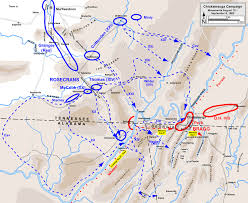 Map Of Chattanooga Tennessee by Chickamauga Campaign Wikipedia