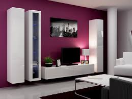 living room design with wall mounted tv rift decorators
