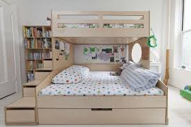 Twin Over Full Bunk Bed Designs by Twin Over Full Bunk Bed With Stairs And Trundle Storage U2014 Loft Bed