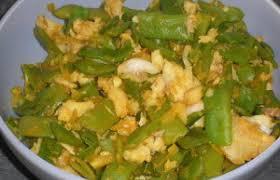cuisiner des haricots plats poêlée de haricots plats et colin recette dukan pl par fanie37