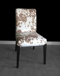 Ikea Dining Chairs Covers Cow Print Ikea Henriksdal Dining Chair Cover Custom Cow Hide