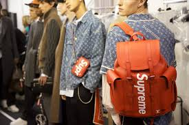 louis vuitton unveiled collaboration with supreme at s fall
