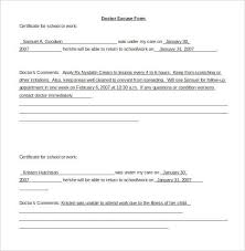 urgent care doctors note template world of letter u0026 format