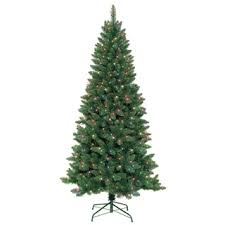 pre lit berrywood pine 7 foot artificial tree free