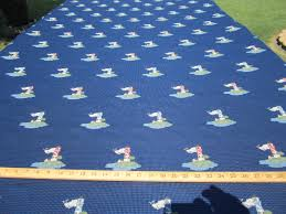 Drapery And Upholstery Fabric Ft987 Lighthouse Jacquard Color Navy Upholstery And Drapery Fabric