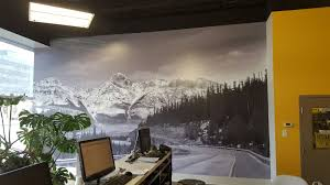 quality storefront wall and window graphics in edmonton ab fountain tire wall mural wall graphics
