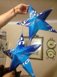bud light party box these are stars made from bud light cartons party decorations