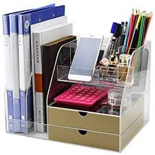 Acrylic Desk Drawer Organizer Clear Office Desk Drawer Organizer And Accessories