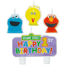 sesame birthday sesame candle birthday ideas sesame streets
