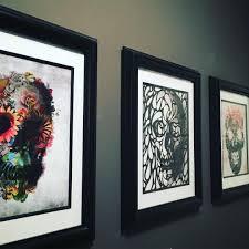 skull art skull gallery wall dark walls dark style gothic