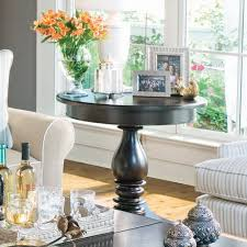 how to decorate a side table in a living room some simple tips for decorating round tables