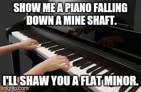 Piano Meme - a flat minor imgflip