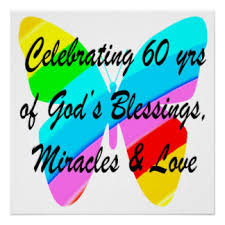 celebrating 60 years birthday happy 60th birthday posters zazzle
