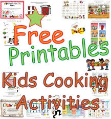 printable instructions classroom kids cooking classroom activities teaching children about cooking