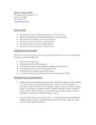 resume sle 2015 philippines sea cover letter marine resume exles biologist biology template sevte