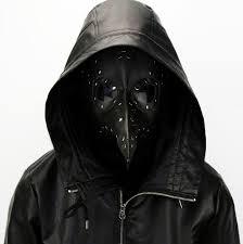 white plague doctor mask aliexpress buy steunk faux leather black bubonic plague