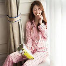 satin pajama sets striped sleepwear robes for ebay