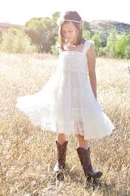 Chic Flower Ivory Flower Dress Ivory Lace Baby Doll Dress Rustic Flower