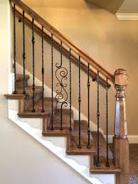 knuckle iron balusters houzz