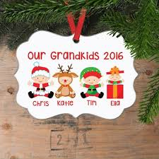 Grandparent Ornaments Personalized Christmas Collection