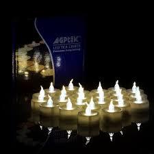 agptek 24 pcs led tealights battery operated flameless