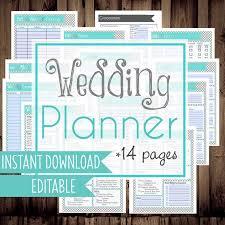 best wedding planner binder printable wedding checklist planner