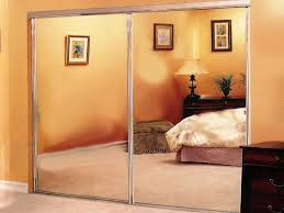 bedroom beautiful awesome bifold mirrored closet doors lowes