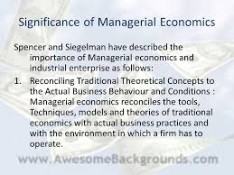 meaning scope methods of managerial economics ppt