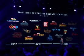 release dates for upcoming marvel star wars and disney movies