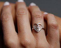 Gold Monogram Ring Name Ring Silver Name Ring Jennifer Ring Name Silver Band