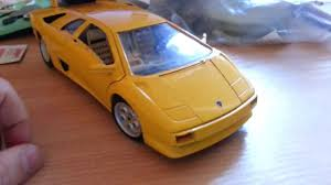 lamborghini diablo ebay bburago lamborghini diablo 1 18 from ebay not as described