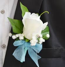boutonniere prices 1 pcs lot made white flower corsage for groom groomsman
