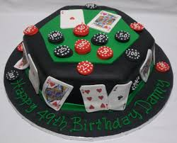 mens cakes 3 hunting fishing golf archery poker pool table