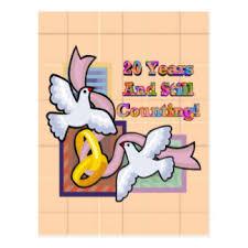 zum 20 hochzeitstag 20 hochzeitstag postkarten zazzle de