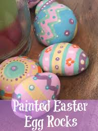 painted easter eggs painted easter egg rocks daydreams