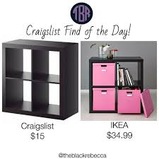 Ikea Kallax Shelving by Craigslist Find Of The Day Ikea Kallax Shelving Unit U2013 The Black